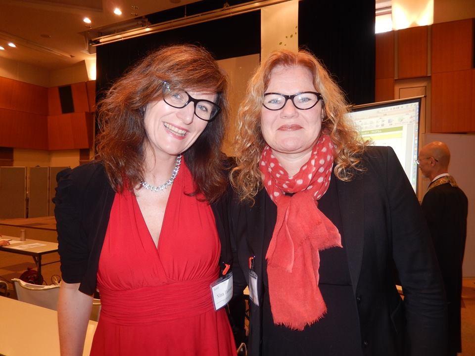Jeg og Siri Baastad clicket for over 20 år siden d vi begge var journalister.