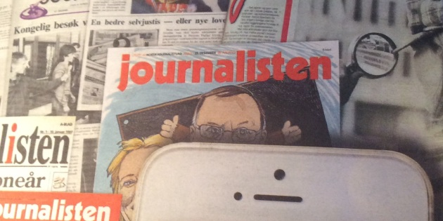 I dag kom siste papirutgaven av fagbladet Journalisten ut.